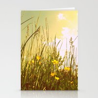 country Stationery Cards featuring Country by Natalie Reed