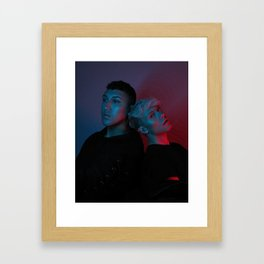 Blurry Now (Ft. Reid Zakos) Framed Art Print