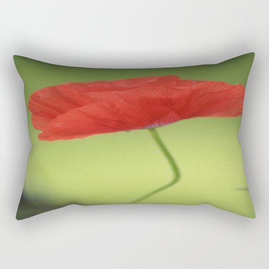 Poppy Love Rectangular Pillow