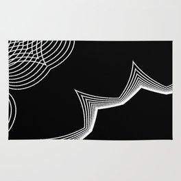 Simple Lines Mandala 4 Rug