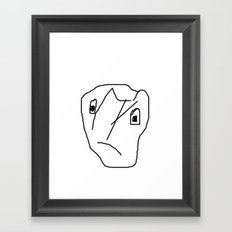 INDIFFERENT Framed Art Print