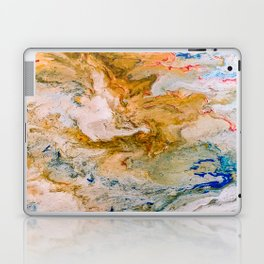 Marble Effect Acrylic Pour Abstract Laptop & iPad Skin