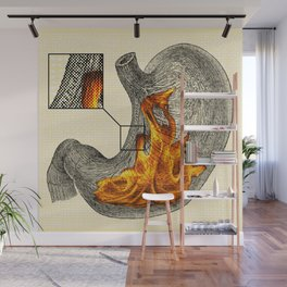Fire In My Belly Wall Mural
