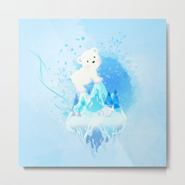 Save Polar Bear! Metal Print