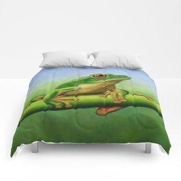 Moltrecht's Green Treefrog Comforters