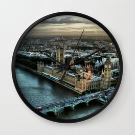 London - Palace Of Westminster Wall Clock