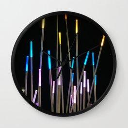 Color Stix Wall Clock