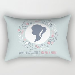A Little Princess - Everything's A Story Rectangular Pillow