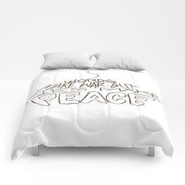 Pies Make Peace Comforters