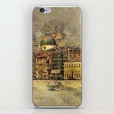 Sunset on The Grand Canal iPhone & iPod Skin