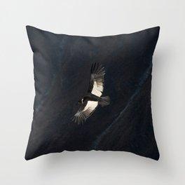 Condor // Ecuador Throw Pillow