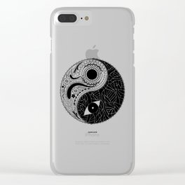 Yin & Yang - [collaborative art with Magdalla del Fresto] Clear iPhone Case