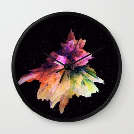Clashing Stars Wall Clock