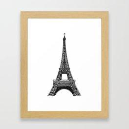 Paris Eiffel Tower Framed Art Print