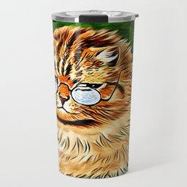 ORANGE TABBY CAT - Louis Wain's Cats Travel Mug