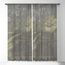Vincent van Gogh - Cineraria Sheer Curtain