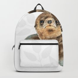 baby seal Backpack
