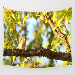 Songbird Singing On The Branch  #decor #society6 Wall Tapestry