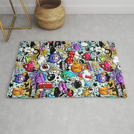 graffiti fun Rug