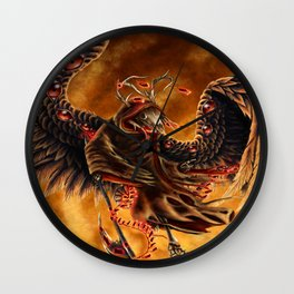 Death in Flight Wall Clock