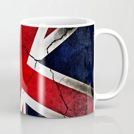 Punk Grunge Union Jack British Flag Coffee Mug