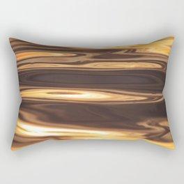 Water Sunset Pattern Rectangular Pillow