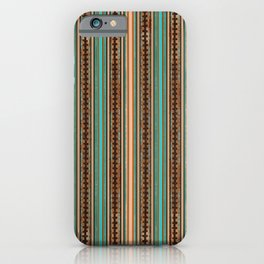 Paper Bird Stripe iPhone Case
