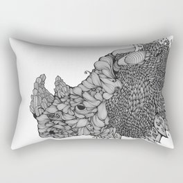 A RHINO Rectangular Pillow