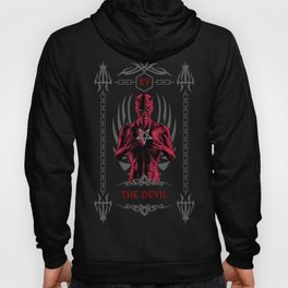 The Devil XV Tarot Card Hoody