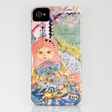 Love From Russia iPhone (4, 4s) Slim Case