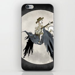 Howling at the Moon iPhone Skin