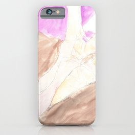 Waiting For Her Turns iPhone Case