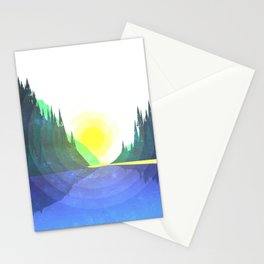 Mountain Calm Stationery Cards