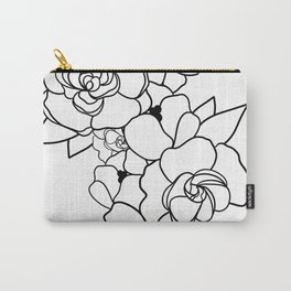 Floral Roots Carry-All Pouch