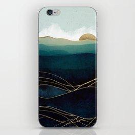 Indigo Waters iPhone Skin