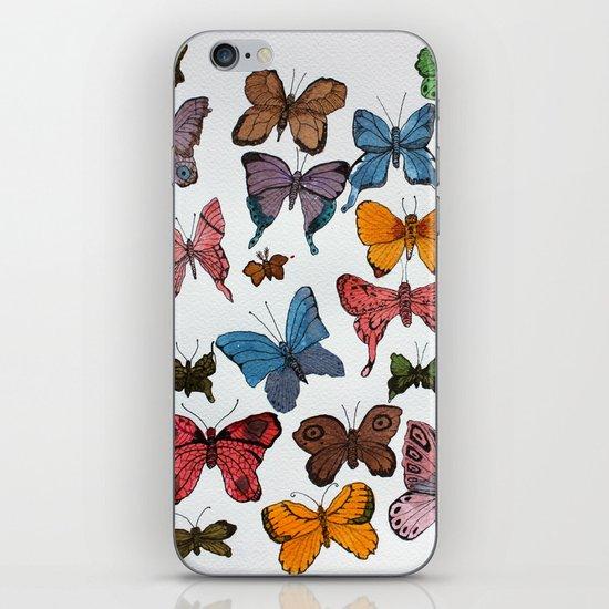 Lepidoptera iPhone & iPod Skin