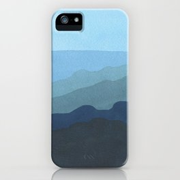 Landscape Blue iPhone Case
