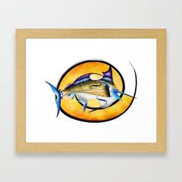 Marlinissos V1 - violinfish Framed Art Print