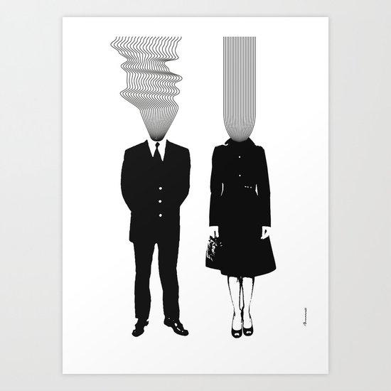 Neuro V1V2 Art Print