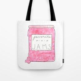 favorite pop jams Tote Bag