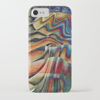 waterfall iPhone & iPod Cases featuring Waterfall by Klara Acel
