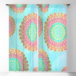Mandala Spiritual Bohemian Zen Hippie Yoga Mantra Meditation Blackout Curtain