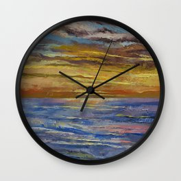 Parfait Sunset Wall Clock