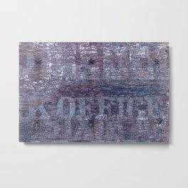 Brooklyn Bricks Metal Print