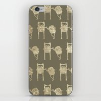 finn and jake iPhone & iPod Skins featuring Finn & Jake by Laela's Heart