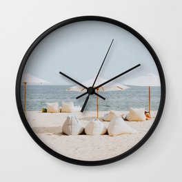 summer beach ii Wall Clock