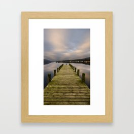 Coniston Water Morning Framed Art Print