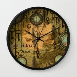 Time Passage Wall Clock