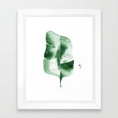 Banana Leaf no.4 Framed Art Print