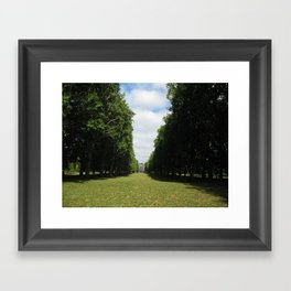 Parting Paths Framed Art Print